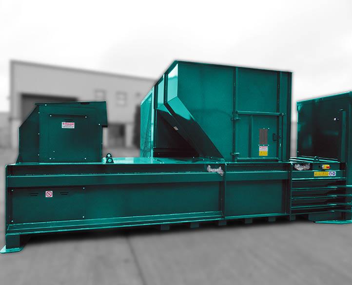 HX500-38T fast loading baler