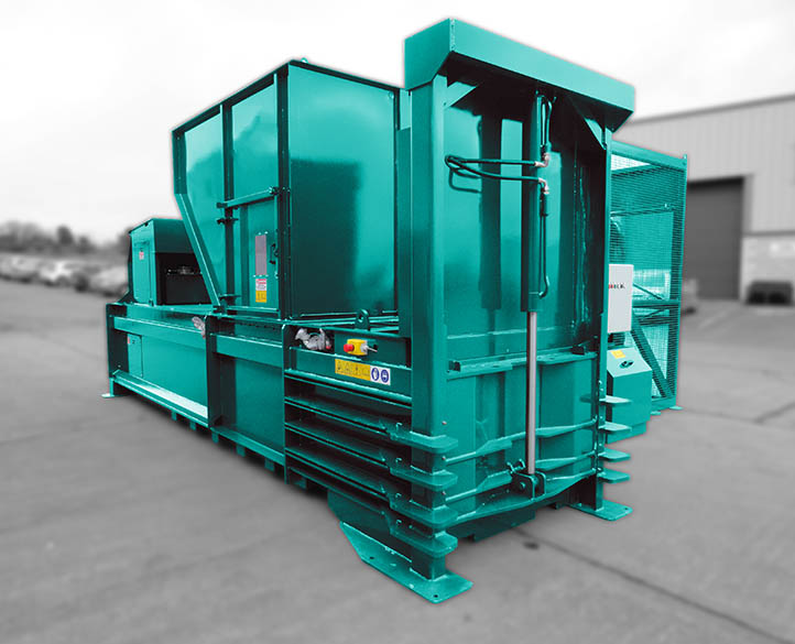 HX500-38T horizontal waste baler