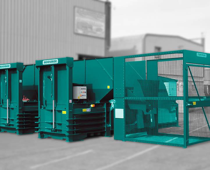HX600-50T horizontal waste baler for Cardboard, Plastics, PET bottles, Aluminium & Steel Cans
