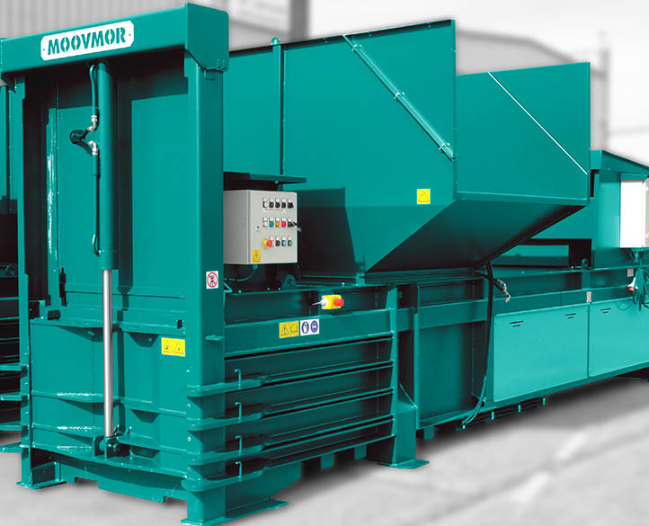 HX600-50T baler suitable for bin tipping or automatic loading
