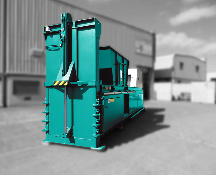 HX800-65T baler for bulk loading & high throughput