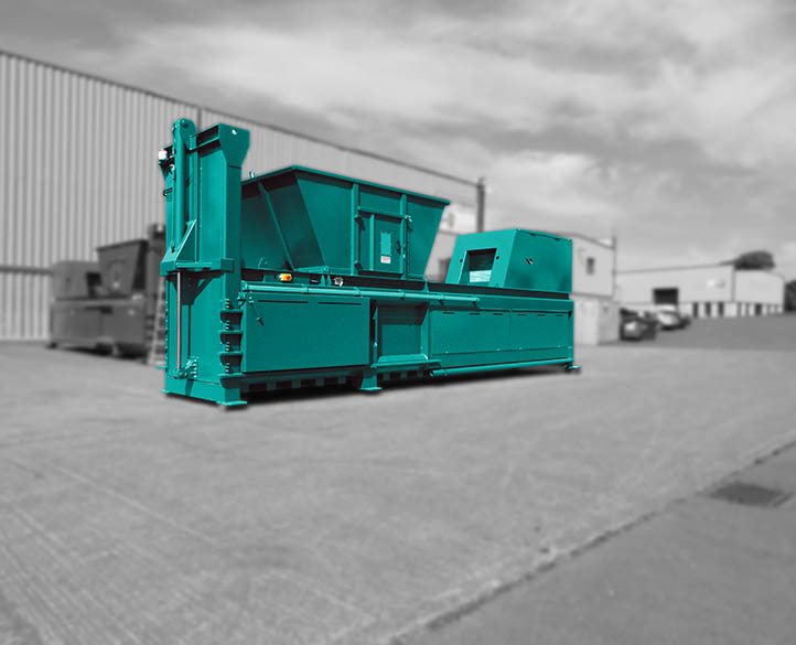 HX800-80T easy to use and flexible for waste recycling handlers