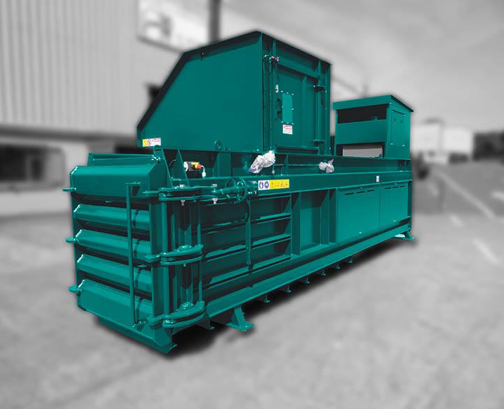 Moovmor Horizontal MX500 waste baler range