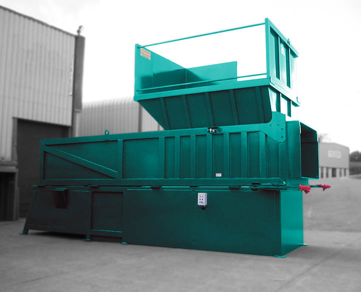 transfer waste compactor