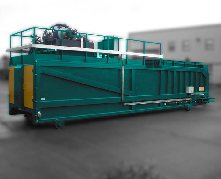 tailor made transfer waste compactor
