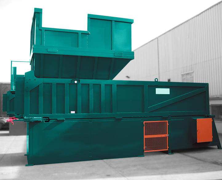 the MTP4500-90T designed for handling high volumes of bulky waste material.