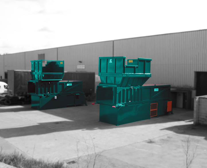 picture of two MTP4500-90T transfer compactors