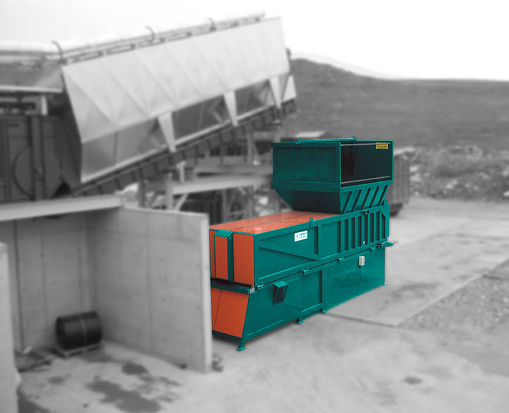 twin transpacker compactor