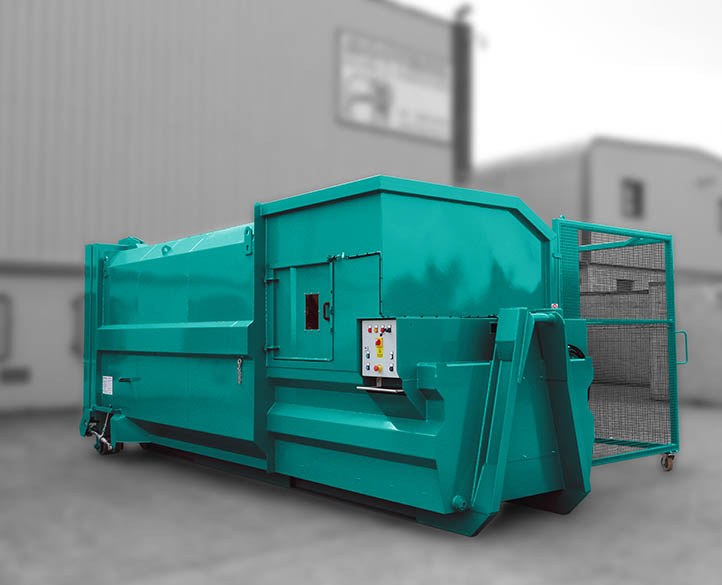 rolopak portable waste compactor