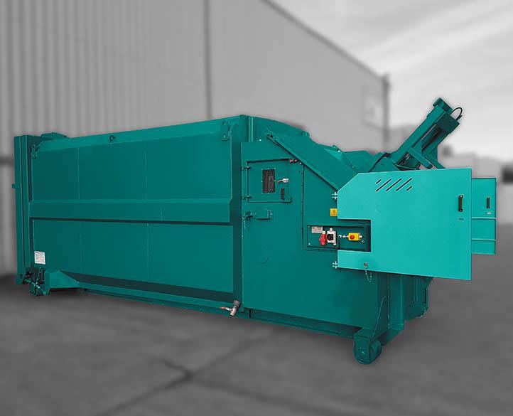 Moovmor-Rolopak Wet waste compactor