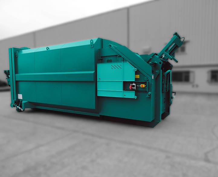 Rolopak Wet Waste Compactor