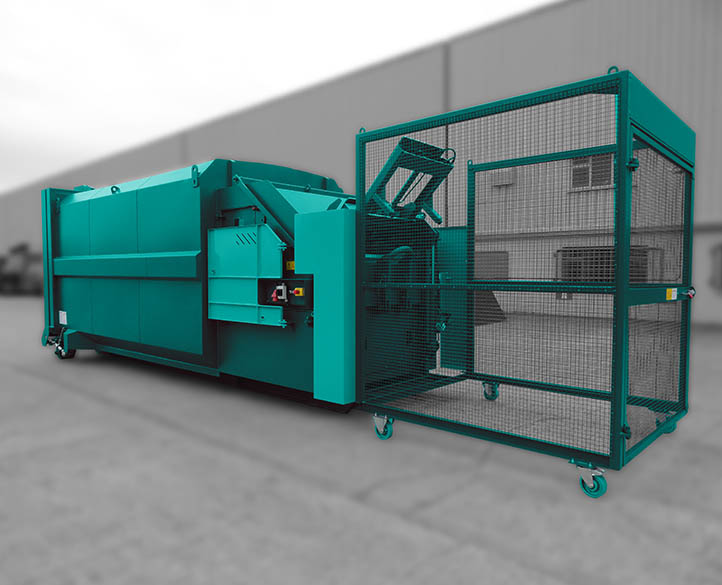 Rolopak portable waste compactor with customised fit out