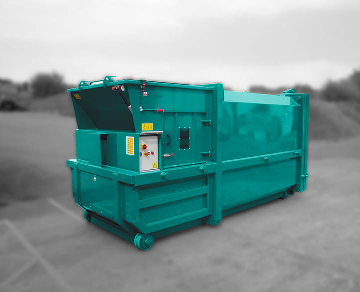 safe and easy to use skippaker waste compactor