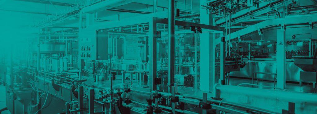 inside a manufcaturing plant