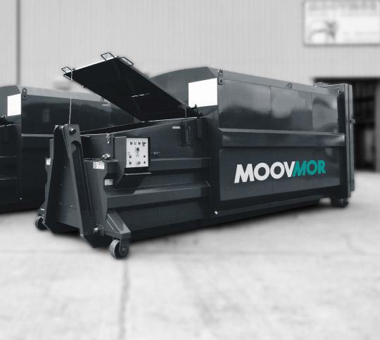 Large moovmor compactor