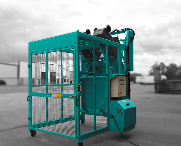 wheelie bin tipper equipment