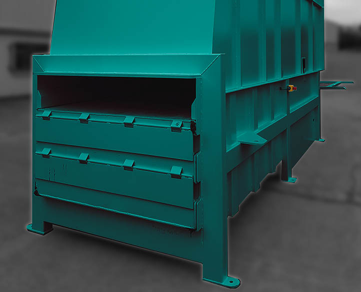 easy and safe to use 3500 Static Waste Compactor