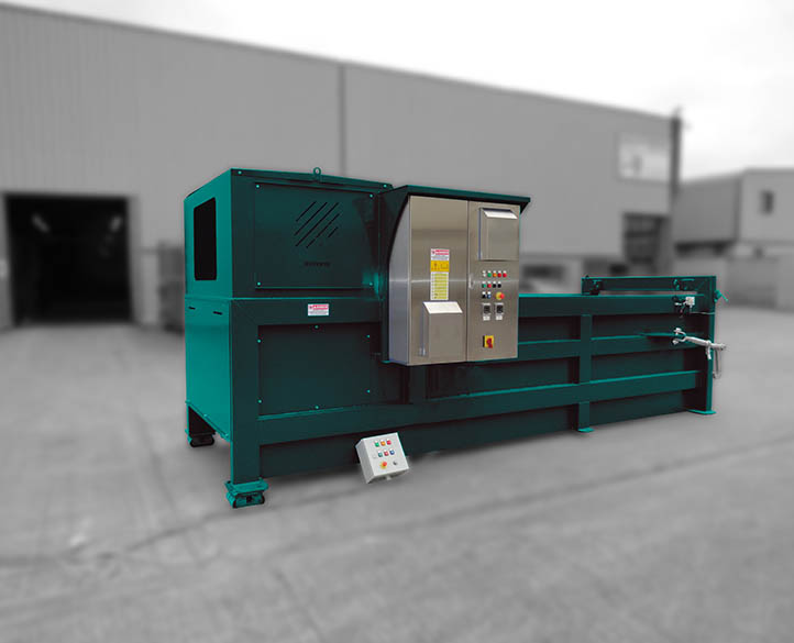 static waste compactor that requires reduced handling and labour costs