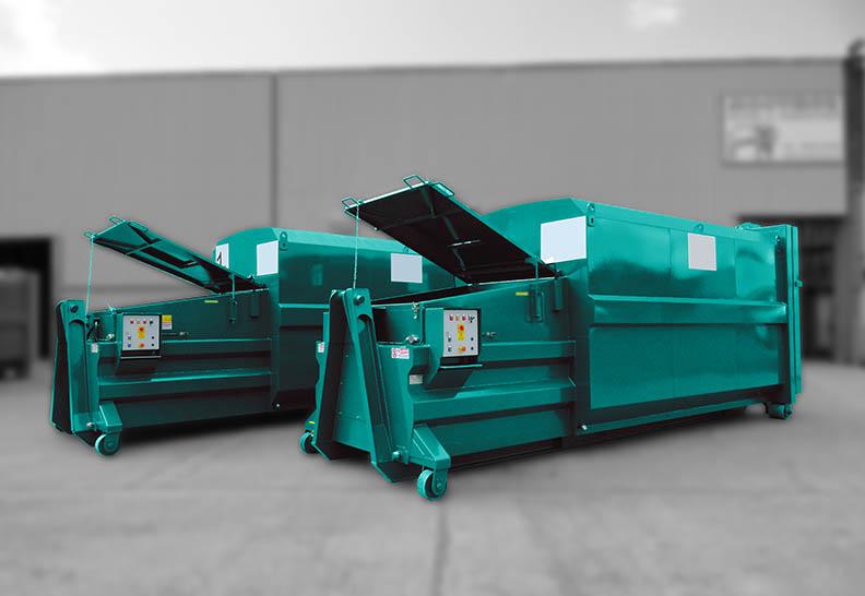 Cardboard Waste Compactors