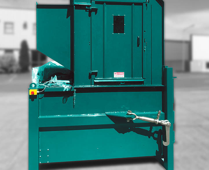 space saving compactor machine